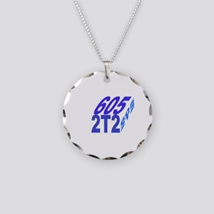 605/2t2 cube Necklace