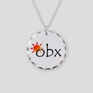 Outer Banks Necklace Circle Charm