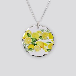 Acid Lemon from Calabria Necklace Circle Charm