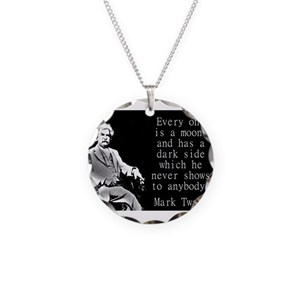 Everyone Is A Moon - Twain Necklace