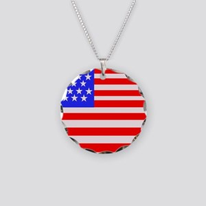 American Flag Laptop Sleeve Necklace