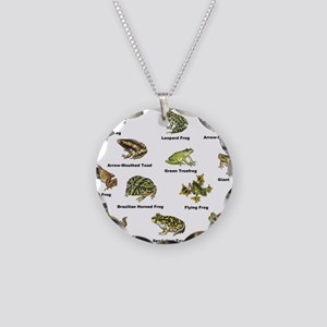 Frog and Toad Types Necklace