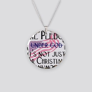 Not Just for Christians Necklace Circle Charm