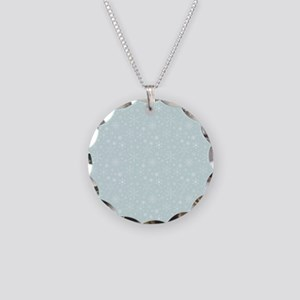 Anticipated Snow Necklace Circle Charm