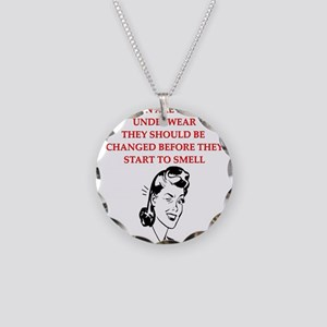 divorce joke for women Necklace Circle Charm
