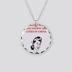christmas divorce joke gifts Necklace Circle Charm