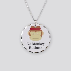 No Monkey Business Necklace