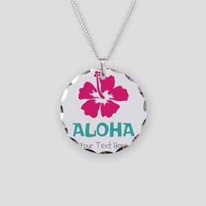 Hawaiian flower Aloha Necklace