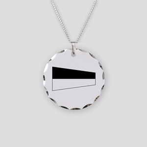 Pennant Flag Number 6 Necklace