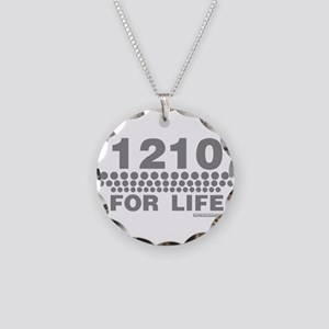1210 For Life Necklace Circle Charm