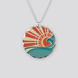 wave at dawn Necklace