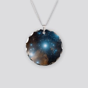Orion's belt Necklace Circle Charm
