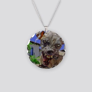 UGLIEST DOG Necklace Circle Charm