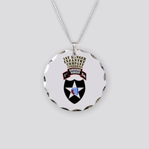 SOF - 1st Ranger Infantry Co - Abn Necklace Circle