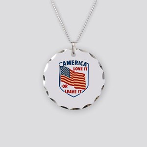 America Love it Necklace