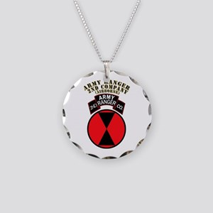 SOF - Army Ranger - 2nd Company Necklace Circle Ch