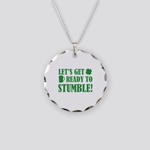 Let's get ready to stumble! Necklace Circle Charm