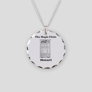 MOZART - THE MAGIC FLUTE Necklace Circle Charm