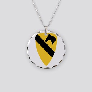 1St Calvalry Necklace Circle Charm