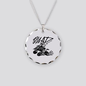 QUAD 4x4 Off Road Edition Necklace Circle Charm