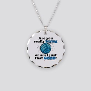 Am I that GOOD! Necklace Circle Charm