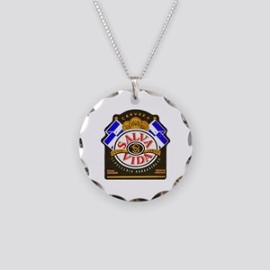 Honduras Beer Label 2 Necklace Circle Charm