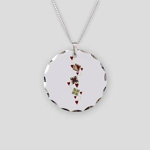 Quilting Design Necklace