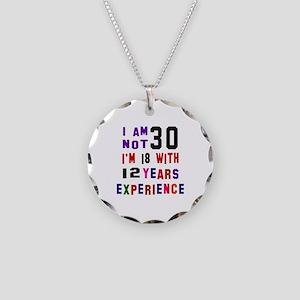 30 Birthday Designs Necklace Circle Charm