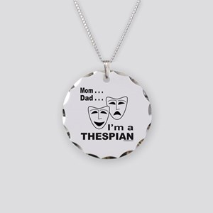 ACTOR/ACTRESS/THESPIAN Necklace Circle Charm