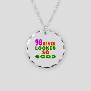 98 Birthday Designs Necklace Circle Charm