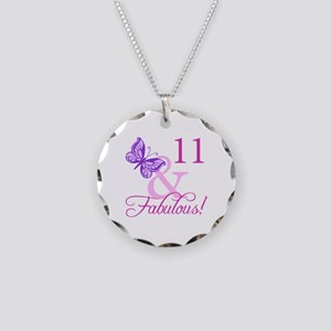 Fabulous 11th Birthday For Girls Necklace Circle C