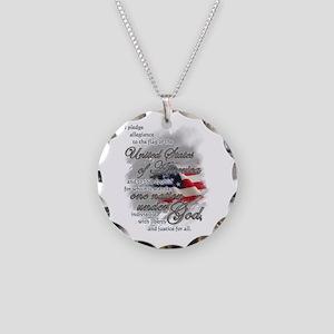 US Pledge - Necklace Circle Charm