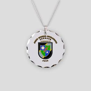 SOF - JSOC - Flash - Ranger Necklace Circle Charm