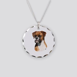 Boxer 9Y554D-123 Necklace Circle Charm