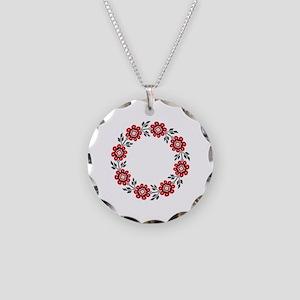 UkrPrint Necklace Circle Charm