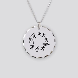 Decathlon Necklace Circle Charm