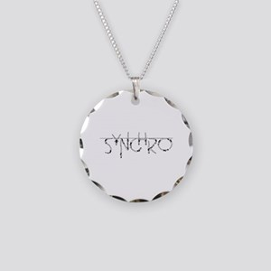 Synchro Necklace Circle Charm