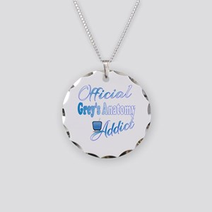 Official Grey's Anatomy Addi Necklace Circle Charm