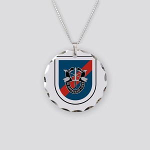 20th Special Forces Necklace Circle Charm