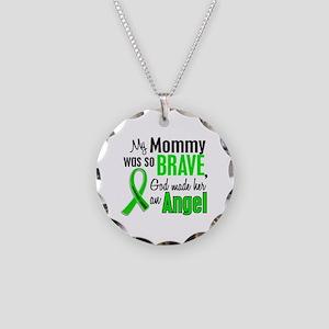 Angel 1 NH Lymphoma Necklace Circle Charm