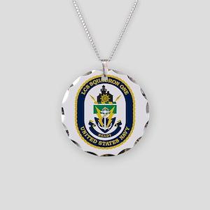 LCS Squadron 1 Crest Necklace Circle Charm
