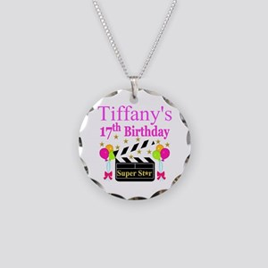 PERSONALIZED 17TH Necklace Circle Charm