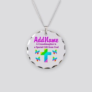 MY GRANDDAUGHTER Necklace Circle Charm