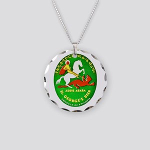 Ethiopia Beer Label 1 Necklace Circle Charm