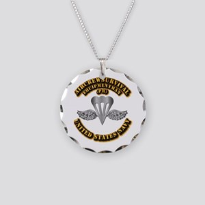 Navy - Rate - PR Necklace Circle Charm