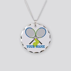Personalized Tennis Player Necklace