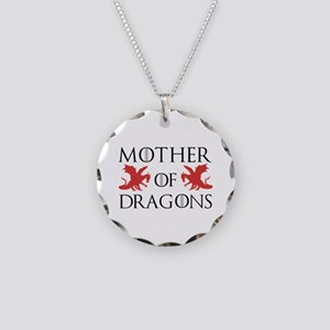 Mother Of Dragons Necklace Circle Charm