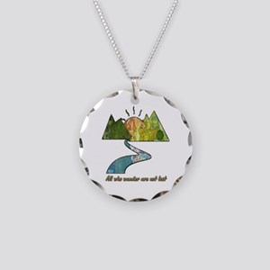 Wander Necklace Circle Charm