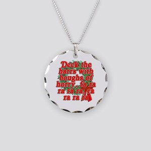 Deck The Harrs - Christmas Story Chinese Necklace
