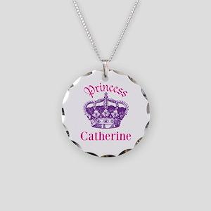 Princess (p) Necklace Circle Charm